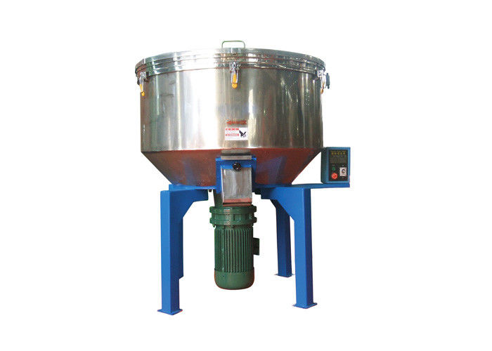 Vertical Plastic Mixer Machine Capacity 150 Kg/H With Castor Wheel LDH-150
